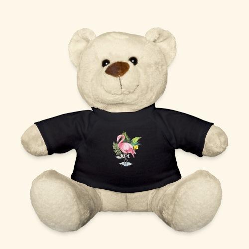 Flamingo tropical forest - Teddy Bear