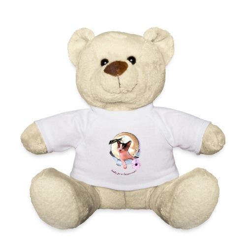 Ready for a cappuchino? - Teddy Bear