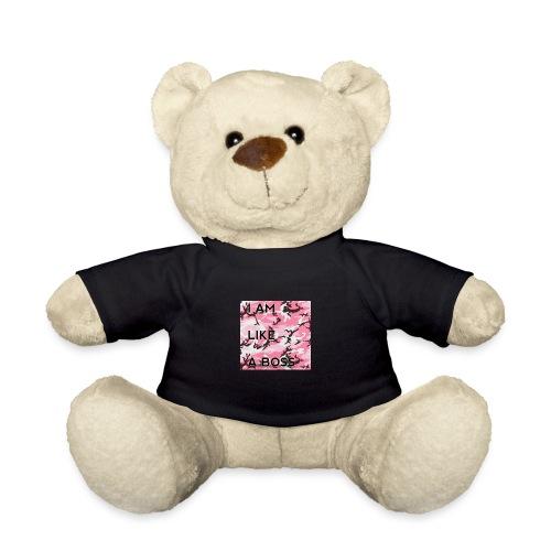 i am loke a boss premium pink camo - Teddy