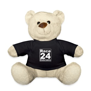 Race24 Logo - White - Teddy Bear
