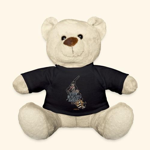 Amrum Spruch Warum Nordsee? Insel Amrum T-Shirt - Teddy