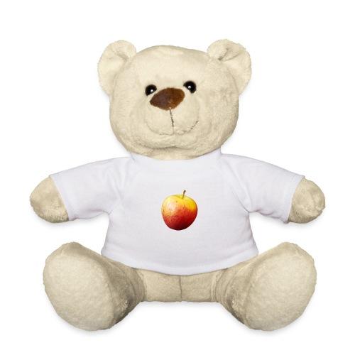 rood fruit met een naam - Teddy