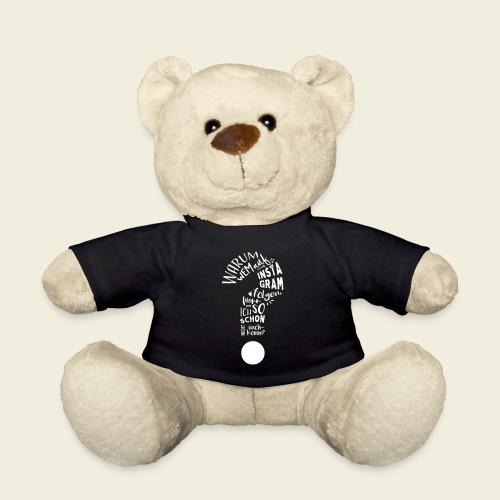 Warum folgen - Design - Teddy