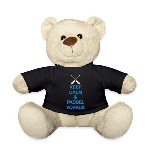 Keep Calm und Paddel voraus / Drachenboot 2c - Teddy
