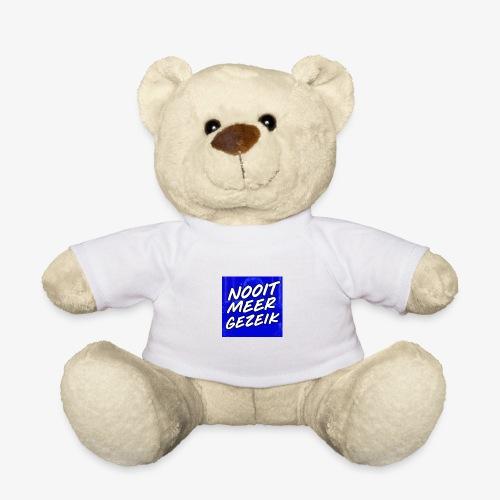 De 'Nooit Meer Gezeik' Merchandise - Teddy