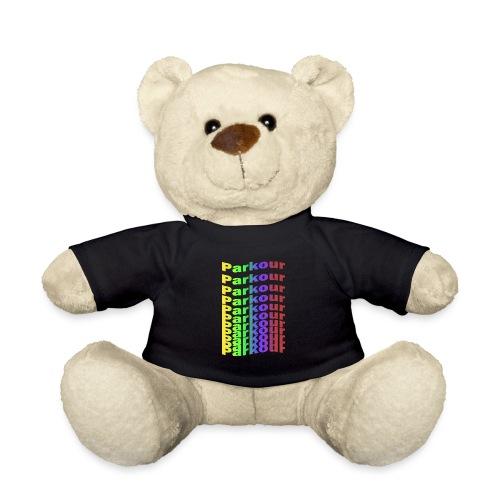 Parkour rainbow - Teddybjørn