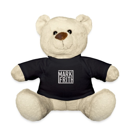 WHITE EMBOSSED LOGO - Teddy Bear