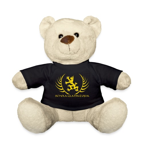 Schola logo with text - Teddy Bear