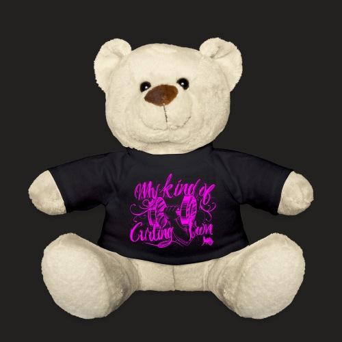 CURLING PURPLE.png - Teddy Bear
