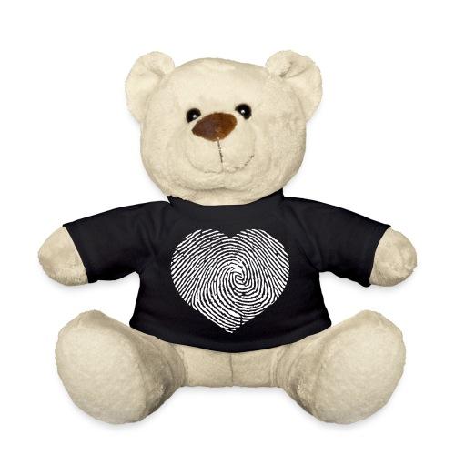 Finger Heart White - Teddy