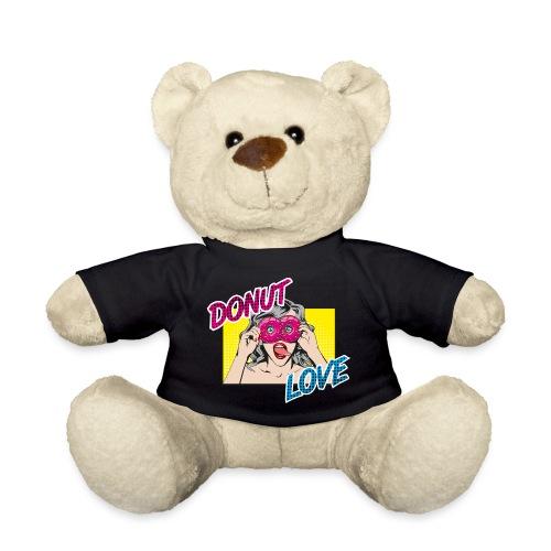 Popart - Donut Love - Zunge - Süßigkeit - Teddy