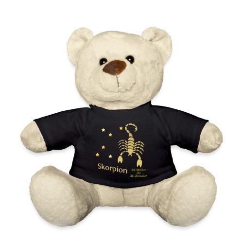 Sternzeichen Skorpion - Teddy