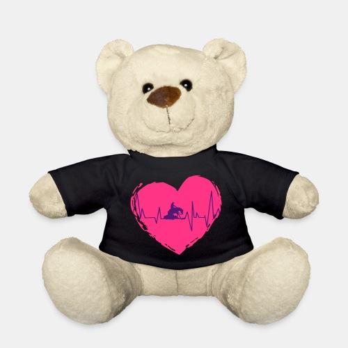 Herz Heartbeat Slider Reining Herzschlag - Teddy