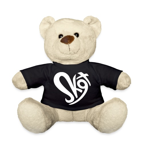 Salzkammergut Herz weiss - Teddy