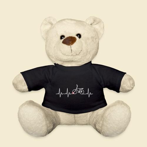 Radball   Heart Monitor White - Teddy