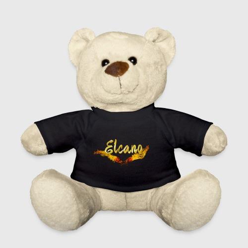 ELCANO Schriftzug mit Fackel - Teddy