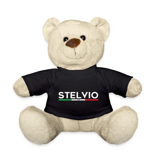 Stelvio mit Flagge - Teddy