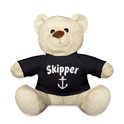Skipper Anker (Vintage Weiß) Segler Boot & Segeln - Teddy