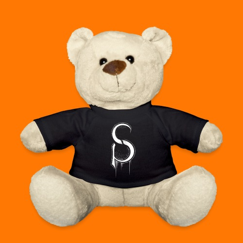 SCP-sign-WHITE transp - Teddy Bear