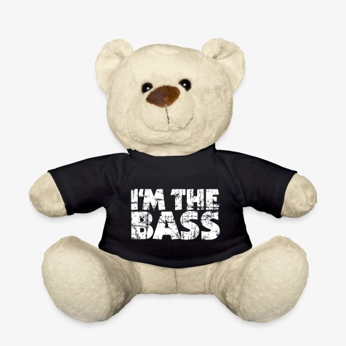 I'm the Bass Vintage White - Teddy