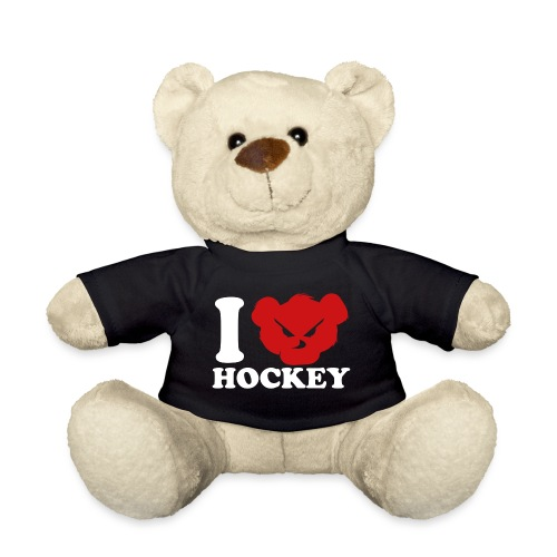 i love hockey white png - Nounours