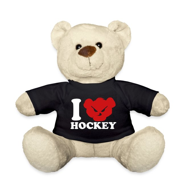 i love hockey white png