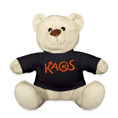 kaoslogo til tshirt X lit - Teddybjørn
