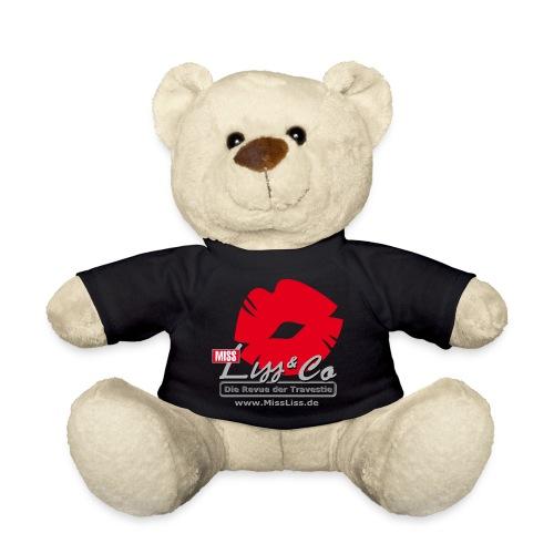 Miss Liss Logo grosser Kussmund mit Internetseite - Teddy
