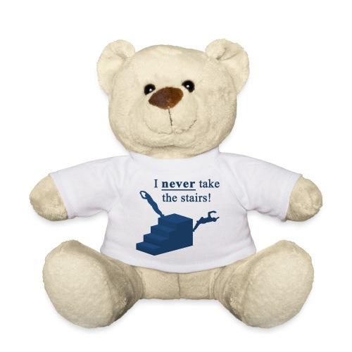 I Never Take The Stairs Blue Parkour - Teddybjørn
