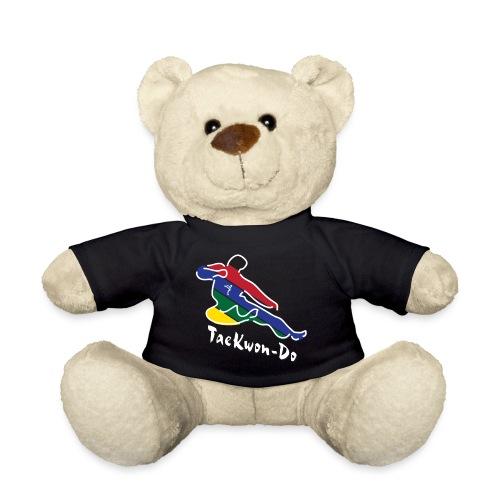 Taekwondo Flying Kicking-man - Teddy Bear