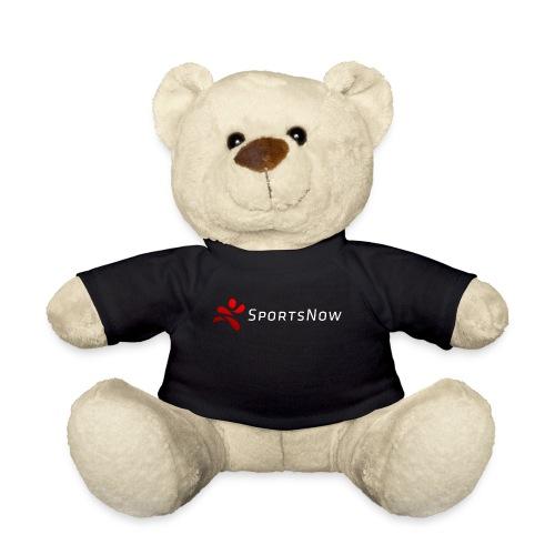 SportsNow-Logo mit weisser Schrift - Teddy