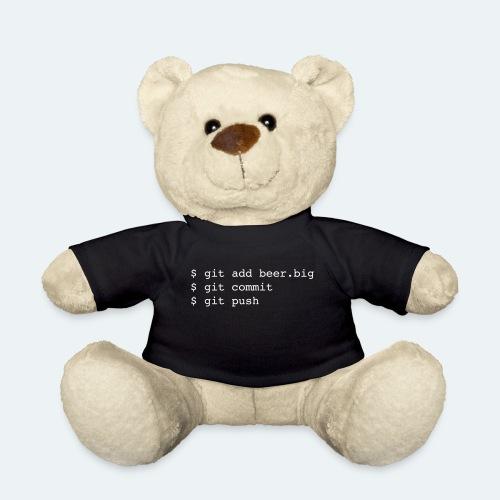 Bier Git Befehle Geschenk für Informatiker - Teddy