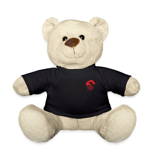 Sea of red logo - small red - Teddy Bear