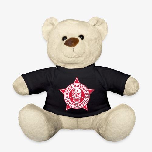 Hamburg Supergeil Totenkopf T-Shirt - Teddy