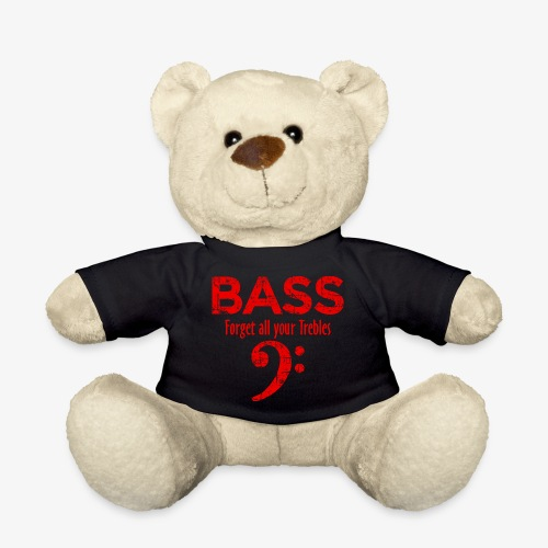 BASS Forget all your trebles (Vintage/Rot) - Teddy