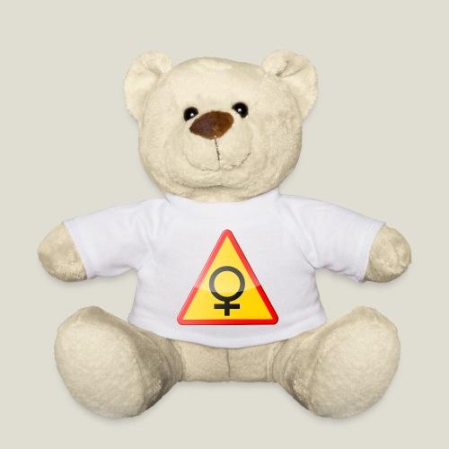 Varning för kvinna! Warning - woman! - Nallebjörn