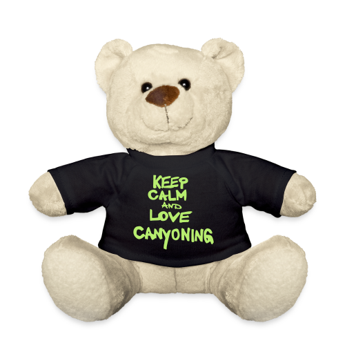 keep calm and love canyoning - Teddy