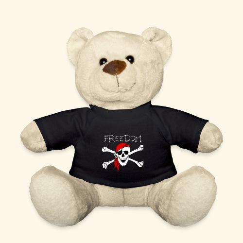 Freiheit Pirat Totenkopf - Teddy