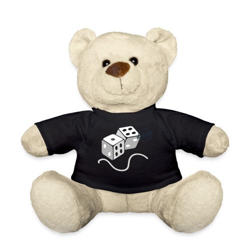 Dice - Symbols of Happiness - Teddy Bear