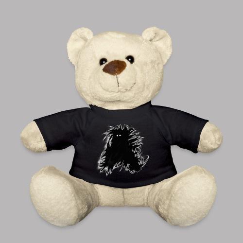 Alan at Attention - Teddy Bear
