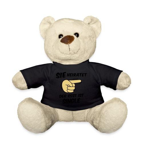 Sie heiratet, der Rest ist Single - JGA T-Shirt - Teddy