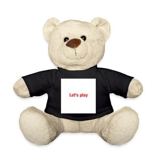 Let's play - Teddy Bear