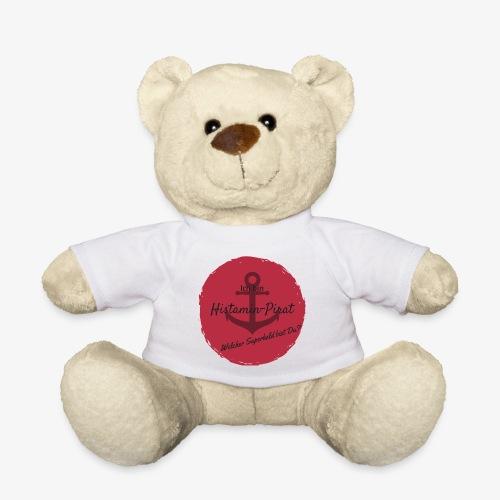 Histamin-Pirat Superheld (rot) - Teddy