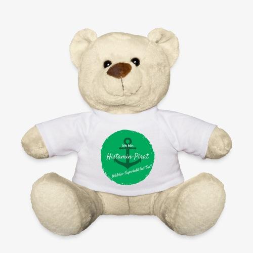Histamin-Pirat Superheld (grün) - Teddy