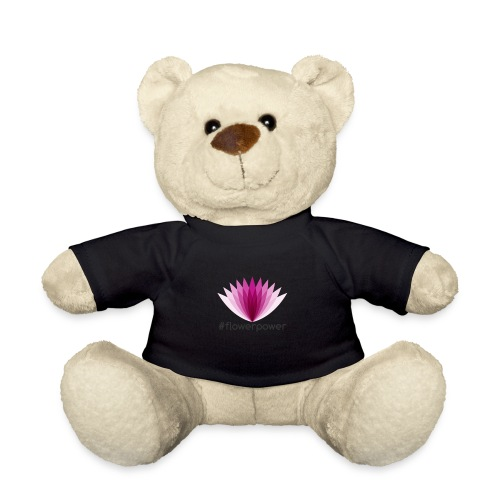 #flowerpower - Teddy Bear