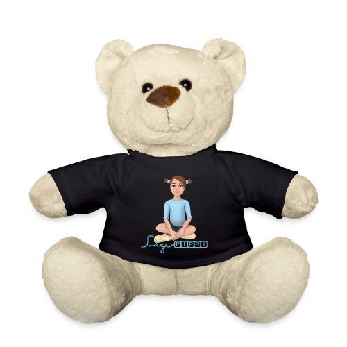 DigiPippi - maskot og logo - Teddybjørn