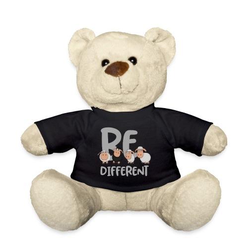 Be different Schafe: Einzigartiges schwarzes Schaf - Teddy