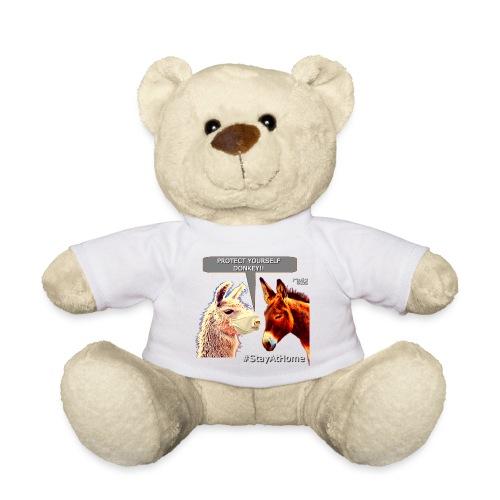 Protect Yourself Donkey - Coronavirus - Teddy Bear