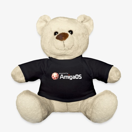 PoweredByAmigaOS white - Teddy Bear