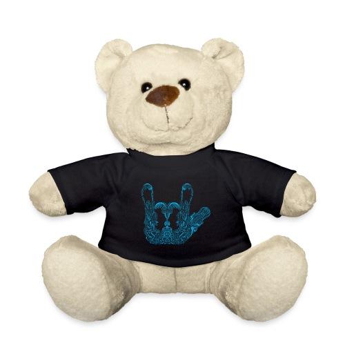 ILY Handzeichen Mandala - Teddy
